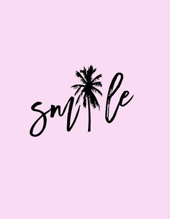 Summer Smiles- Free Printable