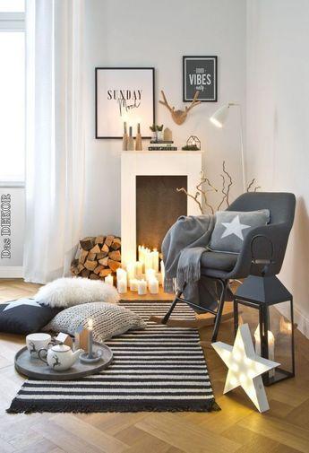 So funktioniert der Look »Nordic Fire«: Eine Kaminkonsole ist DIE Interior-Ge