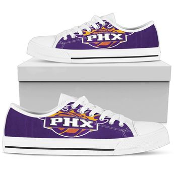 012dcd5ea3f0c6 Bandana Fever Phoenix Suns Print Low Top Shoes