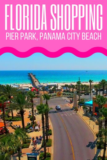 Shopping Pier Park Mall in Panama City Beach