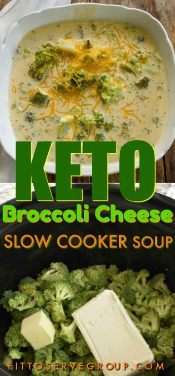 My keto broccoli cheese slow cooker soup is easy, low in carbs, gluten-free and thickened with only cheesy goodness. It's a rich thick low carb broccoli cheese soup that everyone will enjoy. #ketobroccolicheesesoup #lowcarbbroccolicheesesoup #lowcarbsoup #ketosoup #ketoslowcookersoup #lowcarbslowcockersoup #ketocrockpotsoup #lowcarbcrockpotsoup #ketobroccolisoupcrockpotsoup