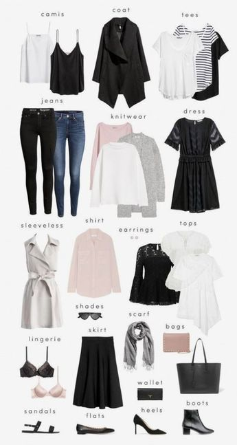 How to Create a Minimalist Capsule Wardrobe by cornelia