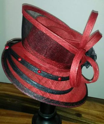 349c8d1179f Handmade Sinamay Hat