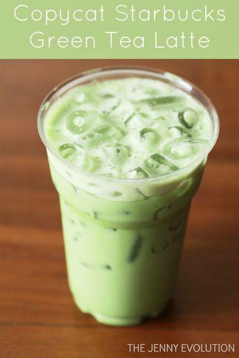 Copycat Starbucks Green Tea Latte