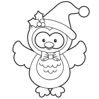 Baykuş Boyama Sayfası