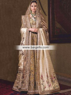 4dbd64b9f6 Exclusive Bridal Dresses Pakistan Fahad Hussayn Latest Bridal Collection