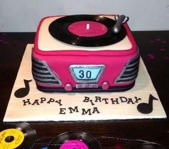 Cake Ideas For 1950s Vintage Birthday