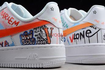 3254d5db3e577 ... Asap Mob Size US 12.5 / EU 45-46 - 1. VLONE x Nike Air Force 1 Low A$AP  Bari's Son Mase Custom - Nike
