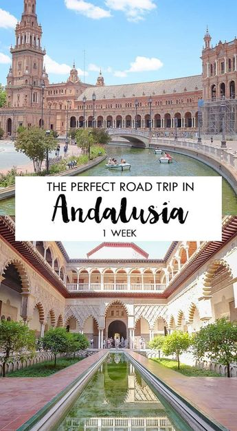 Amazing road trip in Andalusia, Spain