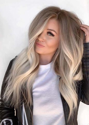 Beautiful Blends Of Balayage Ombre Hair Colors for 2019
