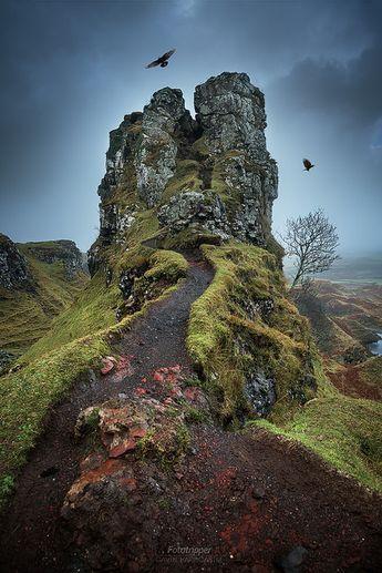 The Fairy Glen - Isle of Skye