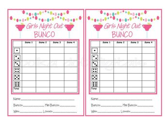 picture regarding Printable Bunco Table Tally Sheets identified as Thanksgiving owl Bunco ranking card, ranking sheet, drop bunko