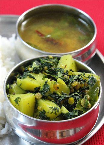 Drumstick leaves stir fry recipe – Munagaku vepudu