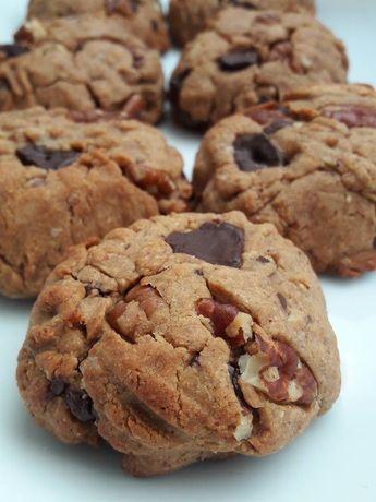 ...Cookies au beurre de cacahuètes... (Vegan) - ...Chez Cathytutu, défis touristiques et culinaires d'une mère au foyer...