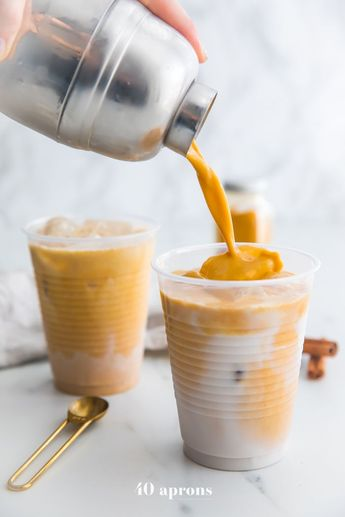 Iced Golden Milk Latte (Paleo, Vegan)