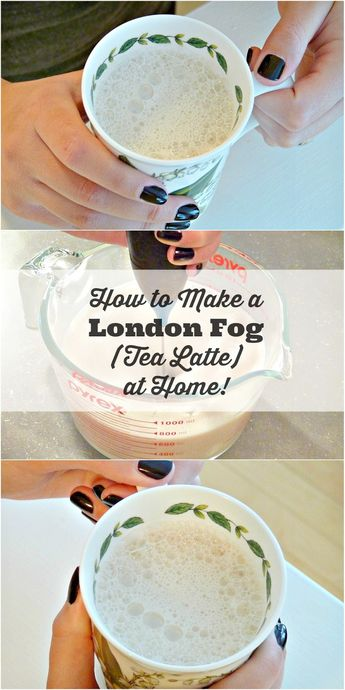 How to Make a London Fog Latte at Home