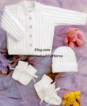 126e27c3b B8363 baby cardigans   sweater baby knitting pattern pdf do