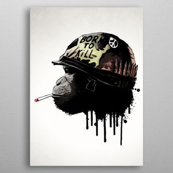 Born To Kill by Nicklas Gustafsson | metal posters