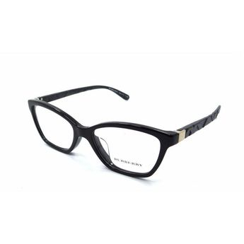 a68afb56b9f04 Burberry Rx Eyeglasses Frames B 2221F 3001 53x17 Black Asian Fit Made in  Italy