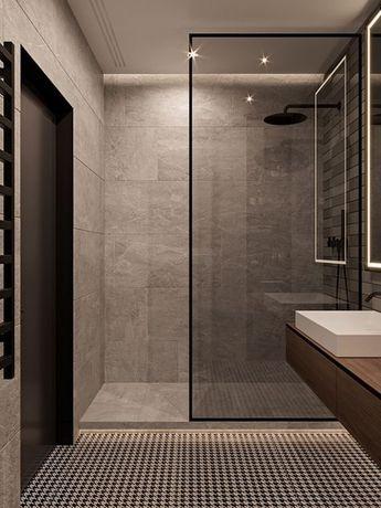 Kleine badkamer, open gevoel, schuifdeur