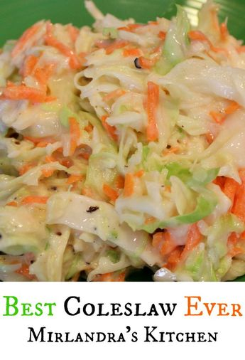 Best Coleslaw Ever (According to me…)