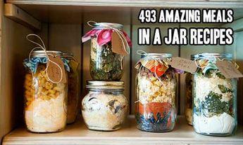 493 Amazing Meals In A Jar Recipes – iSeeiDoiMake