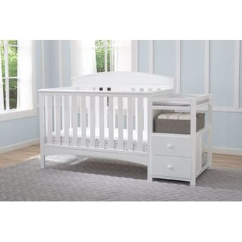 015d48275 Delta Children Abby 4-in-1 Convertible Crib and Changer by Delta Color