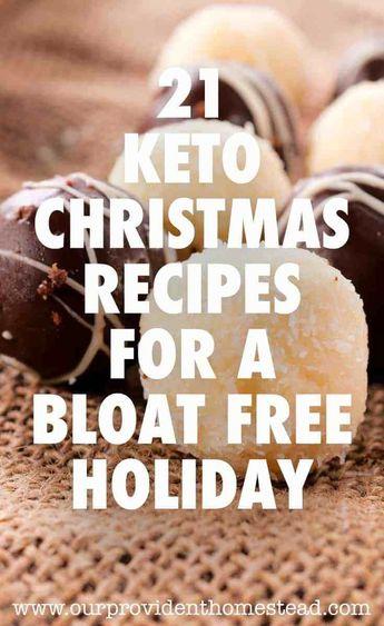 21 Keto Christmas Recipes For A Bloat Free Holiday