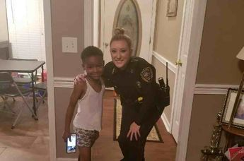 Officer Surprises Boy Who Calls Police Over His Fear That the Grinch Will Steal Christmas