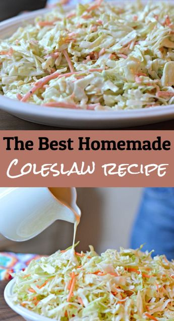 Keep reading to find out how you can make a delicious, homemade coleslaw (or cole slaw) recipe in less than 15 minutes.