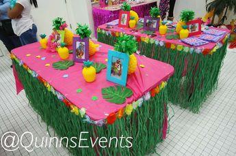 Minnie Mouse Luau Birthday Party Ideas