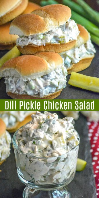 Dill Pickle Chicken Salad
