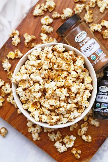 Cinnamon Churro Popcorn (Gluten Free & Vegan Friendly)
