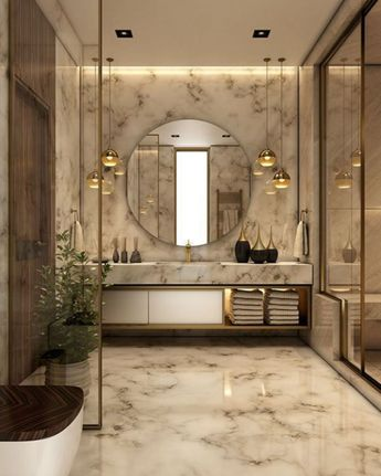 20 Enchanting Luxurious Bathroom Decorating Ideas For More Feeling Comfort When Take a Bath