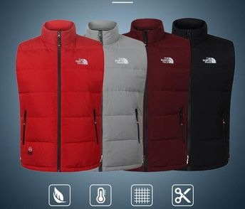 8ae92c3ec1 Mens Face North Brand Designer Down Jacket Luxury Casual Winter Vest Male  Outdoor Windbreaker Down Coat