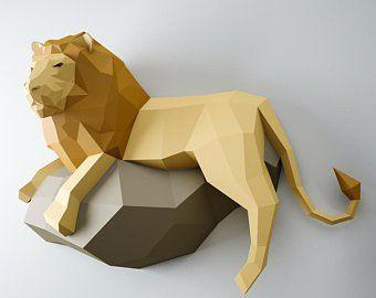 3D Papercraft Elephant, DIY paper craft model, Art Project