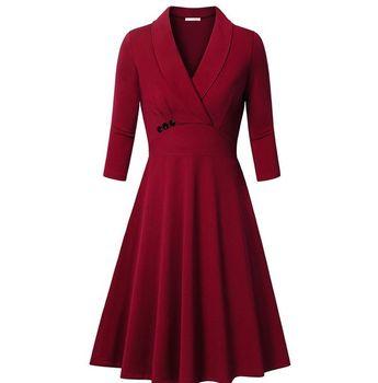 042cf6c590a33 Meaneor Women s Ruffles Peplum Long Sleeve Dressy Blouse T