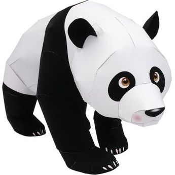 Giant Panda - Land Animals - Animals - Paper Craft - Canon Creative Park