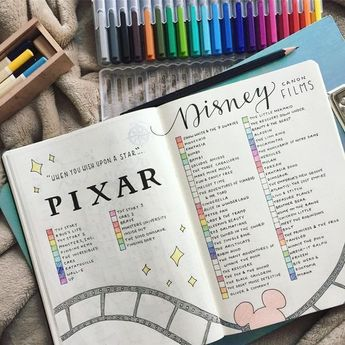 20 Enchanting Disney Bullet Journal Spreads and Ideas to Spark Your Imagination