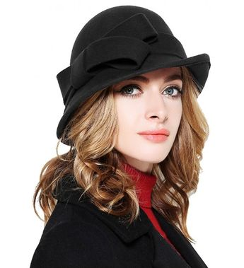 975c78f31 Ana Cloche Hat Style - Interconnected in Java Upholstery