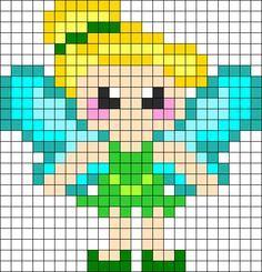 Pixel Art Princesse Disney Elsa