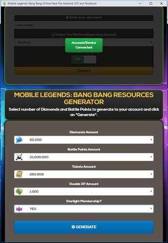 Mobile Legends Hack - Free Diamonds LIVE PROOF Mobile Legen