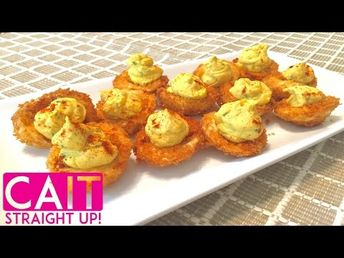 Fried Deviled Eggs Recipe | Cait Straight Up - YouTube