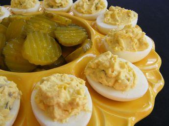 Secret Deviled Eggs