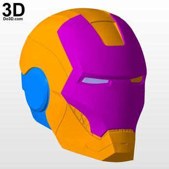 3D Printable Model: Mark VII Helmet (MK 7 Premium Quality)