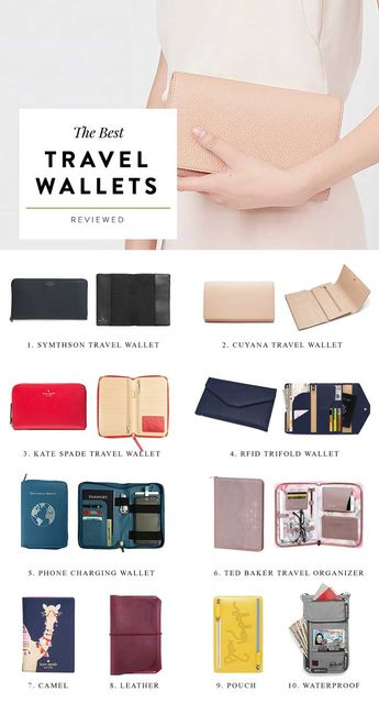 The Best Travel Wallets to Organize Your Vacation Essentials