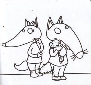 Coloriage Cont Loup Et P Tit Loup Page 2