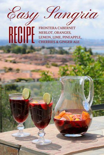 Recipe: Easy Sangria for Summer Entertaining