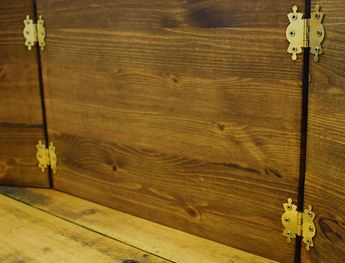 Wooden Dungeon Master Screen, RPG Games, Table Top Games,