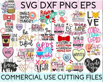 The Funny Bundle of 39 #3 SVG DXF PNG EPS Cutting Files